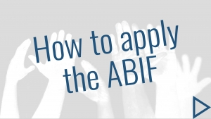 How to apply the ABIF